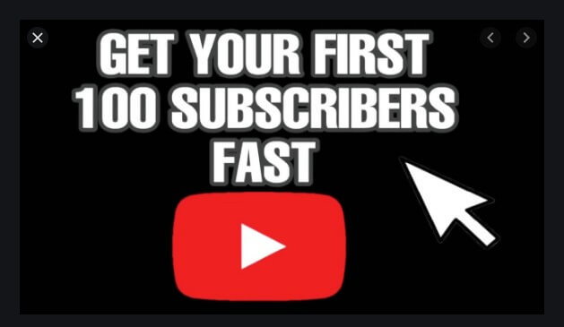 How to Get Your First 100 YouTube Subscribers in 2020